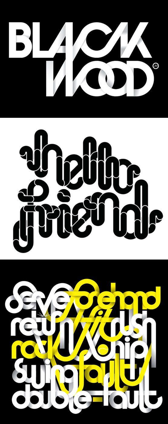 100 Magnifiques visuels de typographie | Blog du Webdesign