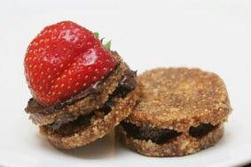 Snack amandel vijgen koekjes