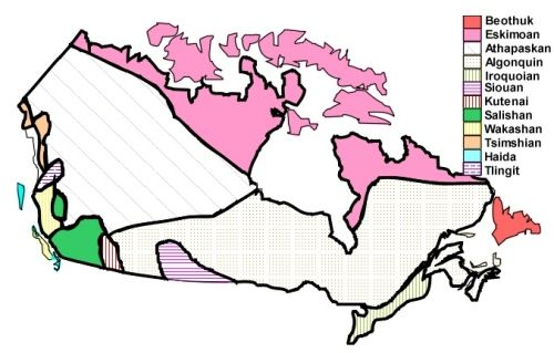 Detailed information about Canadian First Nations tribes