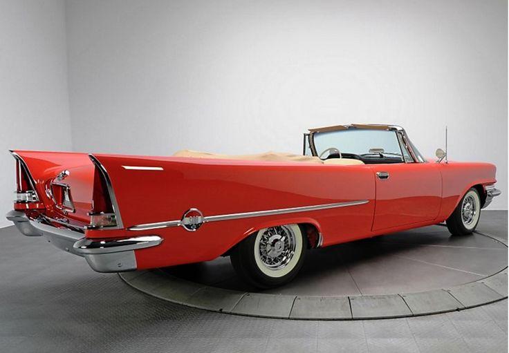 1957 300c Chrysler 300 History Pinterest