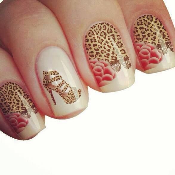 Imagenes de u as de moda 2014 buscar con google decoracion u as pinterest leopardos y moda - Colores de moda para unas ...
