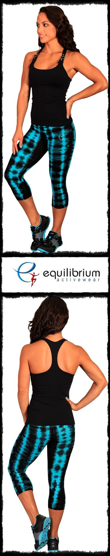 Tie Dye fitness fashion from equilibrium activewear