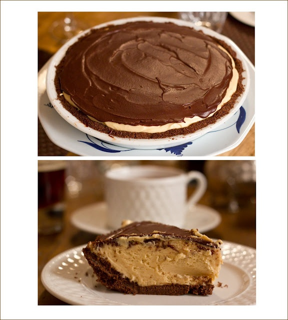A Pie For Mikey, A Piece For Us All. Peanut Butter no bake pie