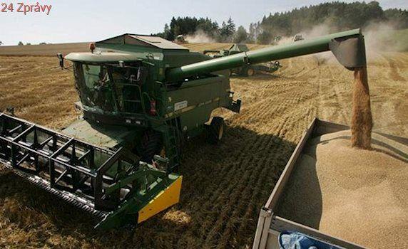 Zisk zemědělství loni stoupl o čtvrtinu, ekonomika zpomalila na polovinu