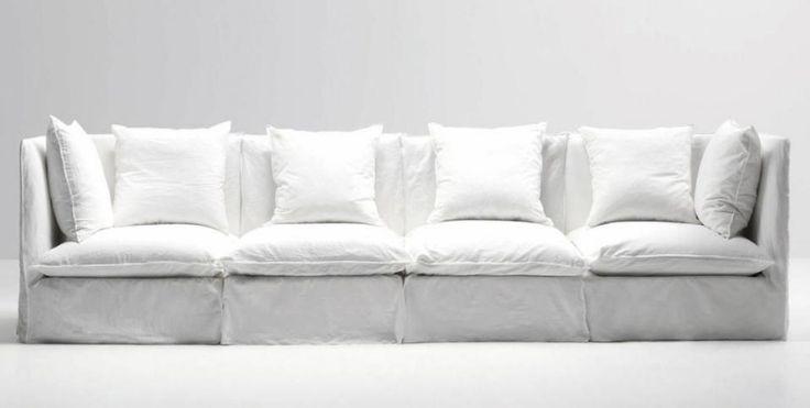Designer Ecksofa Lava Vertjet - Design - kuschelige sofas corbeille sofa edra