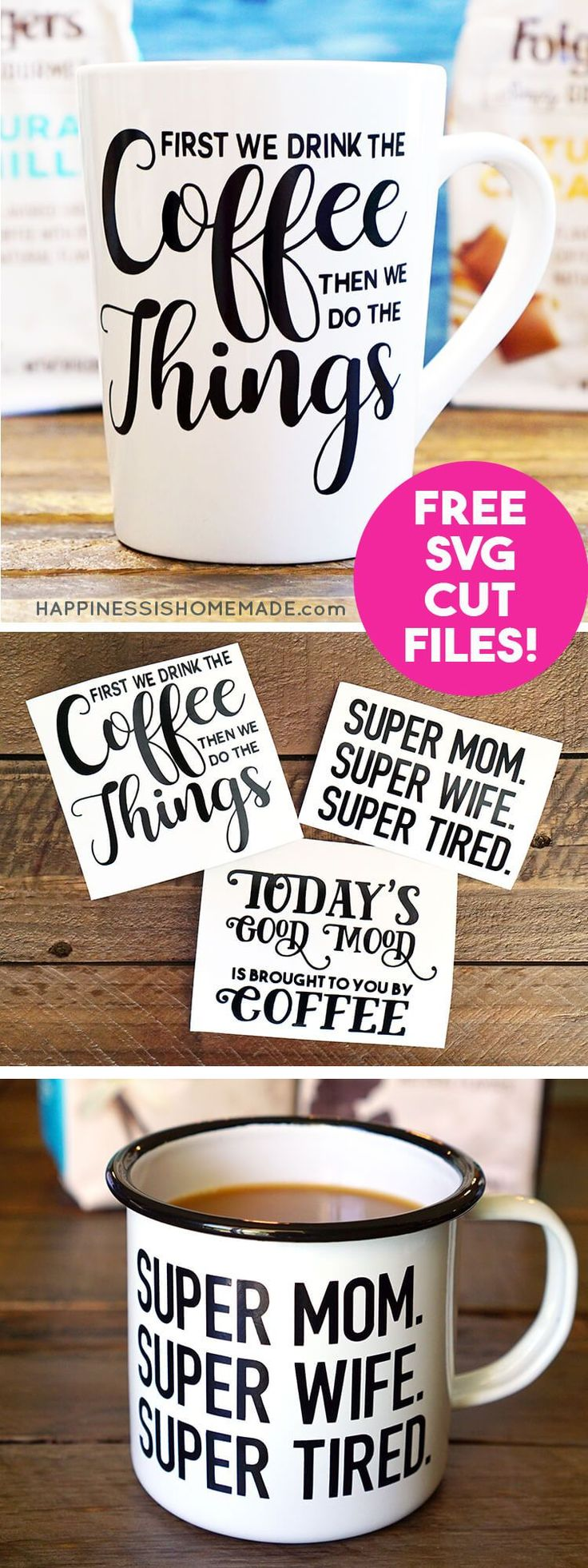 Personalized coffee mugs raleigh nc - Diy Funny Coffee Mugs Free Svg Cut Files