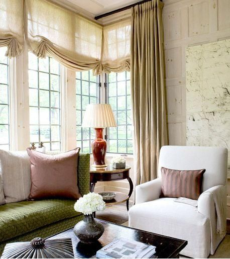 To select the right window treatments for your home, remember to consider the privacy, light and style needs of each room.