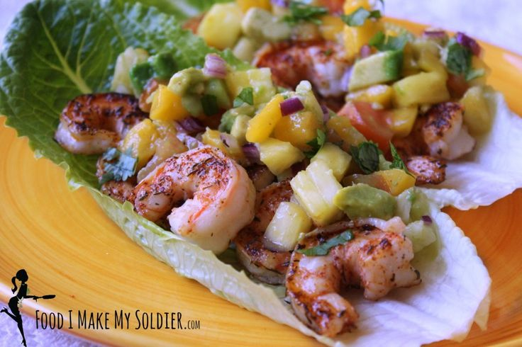 Sweet and Spicy Shrimp Lettuce Cups! Healthy and perfect for Spring!