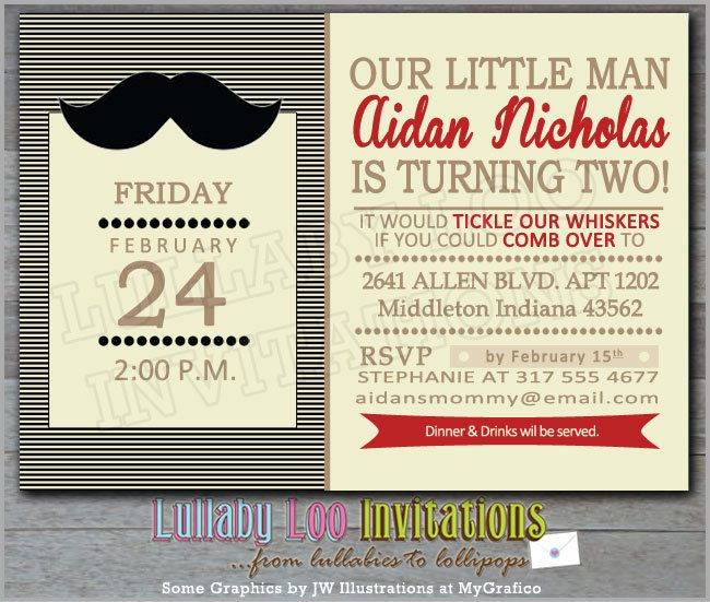 Best 25 Mustache party invitations ideas – Little Man Birthday Party Invitations