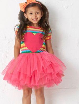 Buy Hootkid All Heart Tutu Dress Stripe