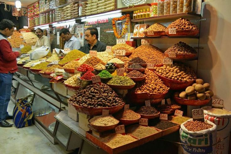 Picture of spice market of Old Delhi kindly shared by our guests Mr. and Mrs. Zuiderent from Netherlands.