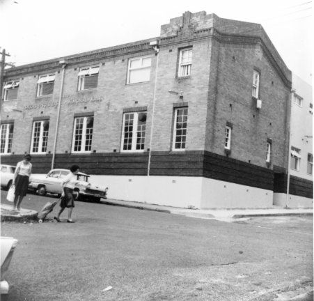Photo of Gladesville RSL Memorial Hall, Gladesville, NSW in 1965. #History #Historic #RydeLocal #Gladesville #RSL #Ryde #CityofRyde #Archives