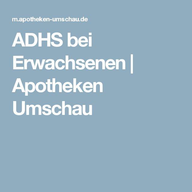 ADHS bei Erwachsenen   Apotheken Umschau