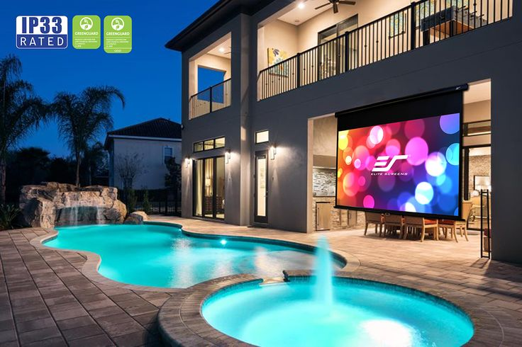 screens on pinterest wall mounted tv projection screen and homes