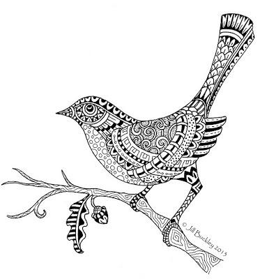 mandala coloring pages birds - photo#35