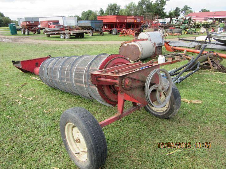 Red WestField grain auger