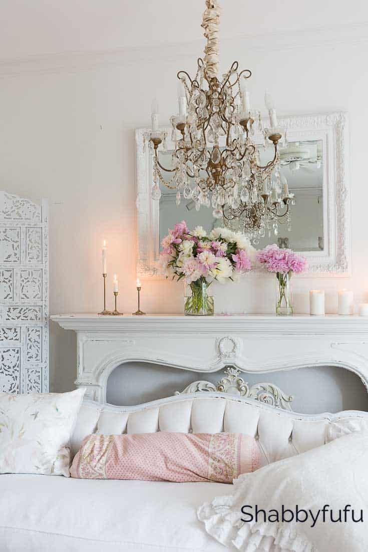 Blush Pink And White Summer Decorating Ideas Trendy Home Decor