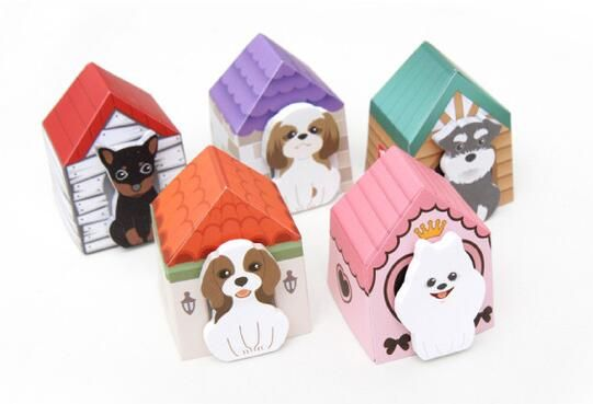 1 Piece kawaii Dog Puppy cartoon sticky notes creative stationery post-it notepad filofax memo pads office supplies school house