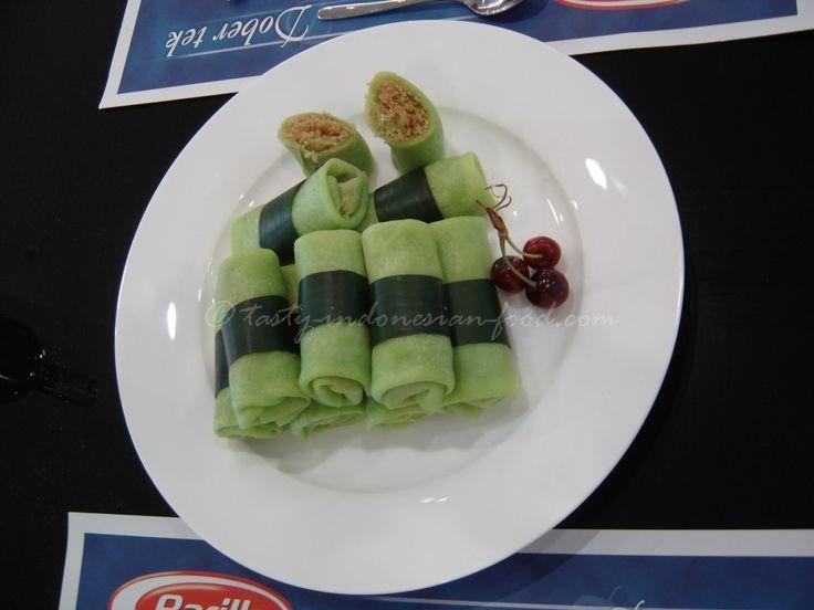 Tasty Indonesian Food - Dadar Gulung