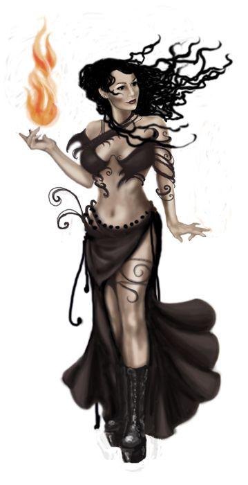 Fire dancer - Me, by Floramarilla