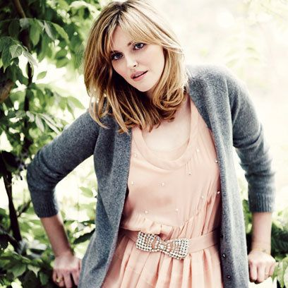 Sophie Dahl, i like to get inspired by her Looks since People said i´d look very similar to her =S
