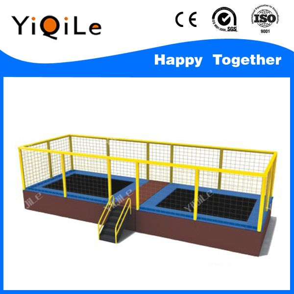 High technology durable 14 trampoline tent competition trampoline fitness trampoline