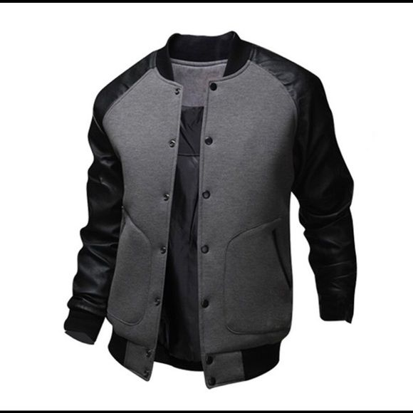 Men's Letterman Jacket S-3XL 2016 New Mens European&American Style Varsity…