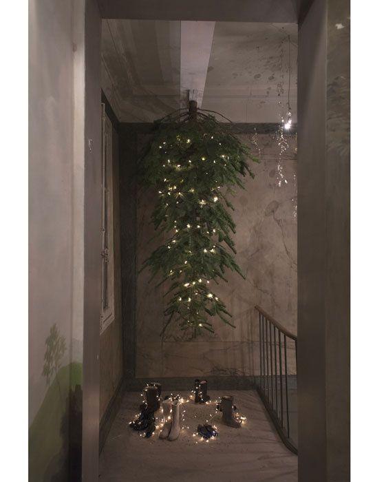 christmas time upside down, hohoho!  Maison Bonpoint à Paris.