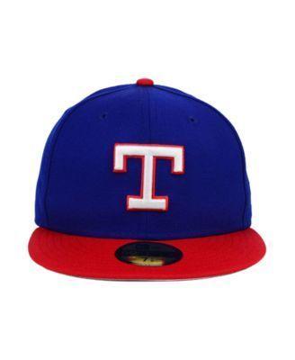 New Era Texas Rangers Mlb Cooperstown 59FIFTY Cap - Blue 7 1/4