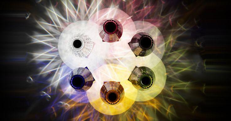 Battery by Ferruccio Laviani | Kaleidoscope effect
