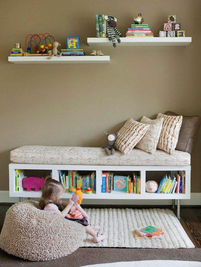 les 25 meilleures id es concernant rangement de livres d 39 enfant sur pinterest stockage de. Black Bedroom Furniture Sets. Home Design Ideas