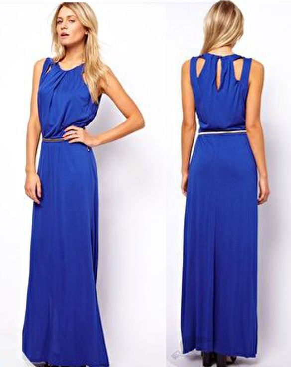 78  images about blue dress on Pinterest  Coral statement ...