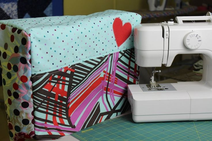 Learn how to custom make your own sewing machine cover! In this video I teach you how to take the measurements needed and translate them onto fabric to creat...