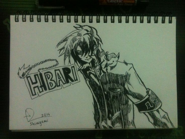 Hibari - Hitman Reborn | Draw by BotChocolate