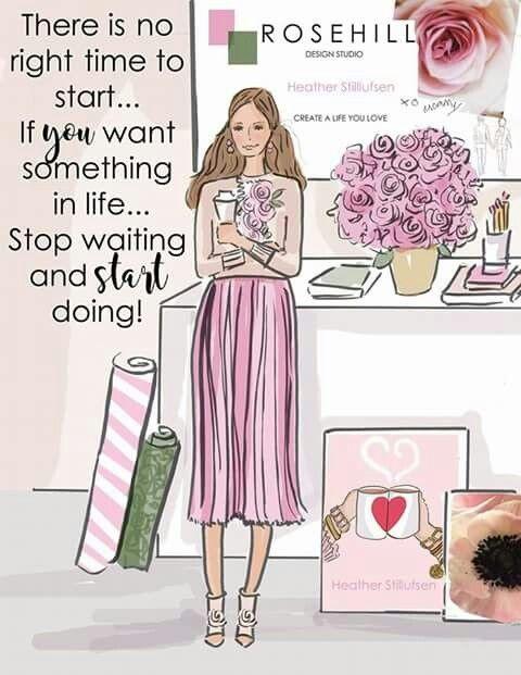 Start doing girl!