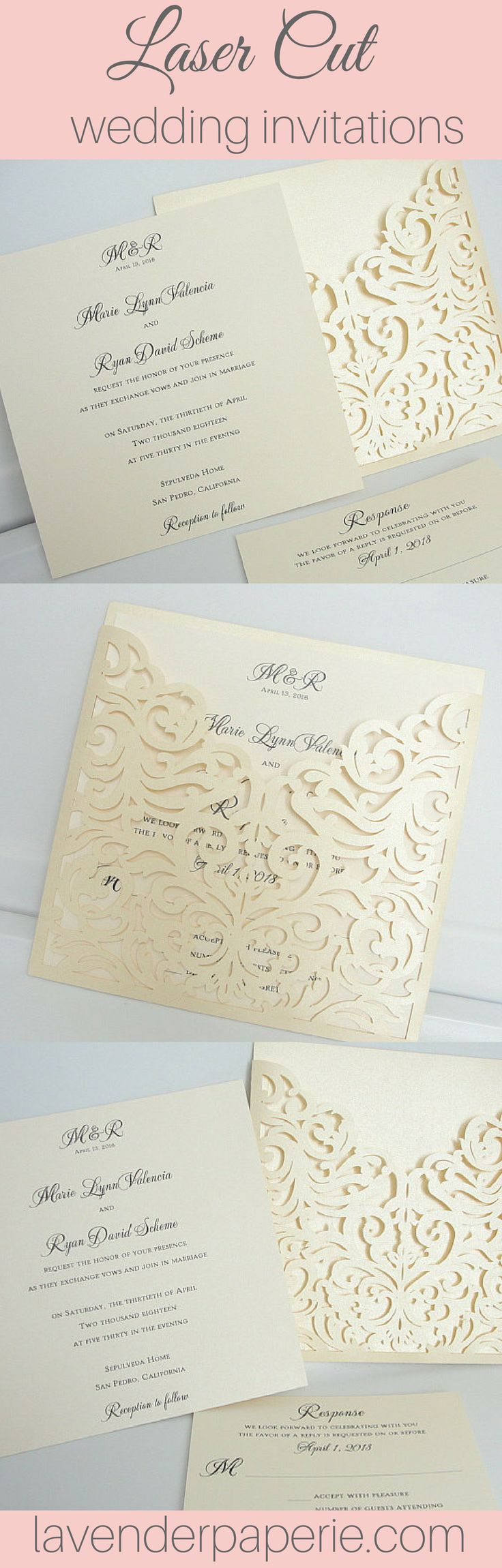 100 Best Fabulous Wedding Invitations Images On Pinterest