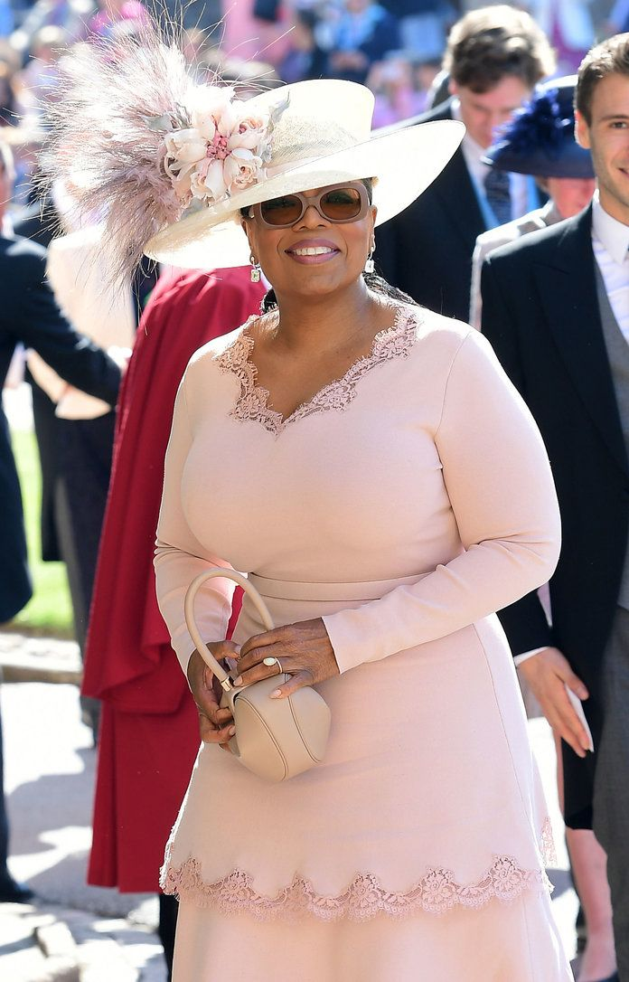 Oprah Winfrey Reveals What It Was Really Like To Attend Meghan Markle And Prince Harry S Royal Wedding Royal Wedding Stylish Celebrities Prince Harry And Megan