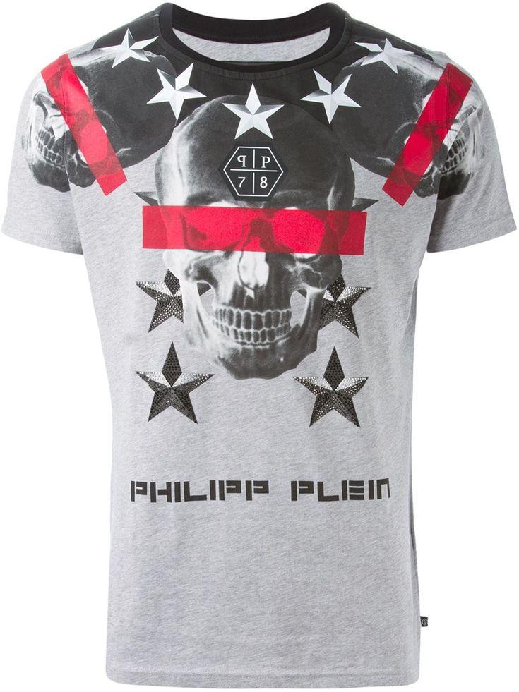 Philipp Plein 'cryptic' T-shirt - Julian Fashion - Farfetch.com