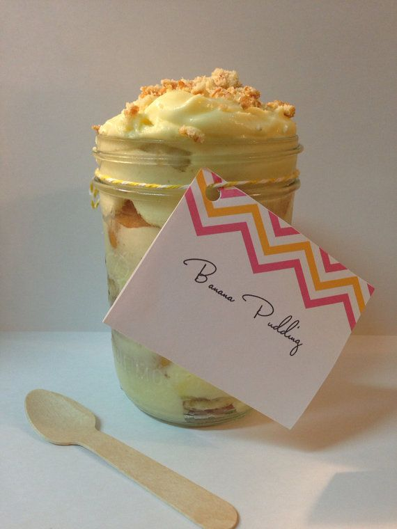 Twice as Nice  Banana Pudding in a Jar   This Banana Pudding is Awesome and one of our best sellers.  You can never get enough of this and what's even more awesome is that we ship!