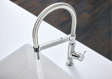 BLANCO SOLENTA™ Senso Semi-Professional Kitchen Faucet ...