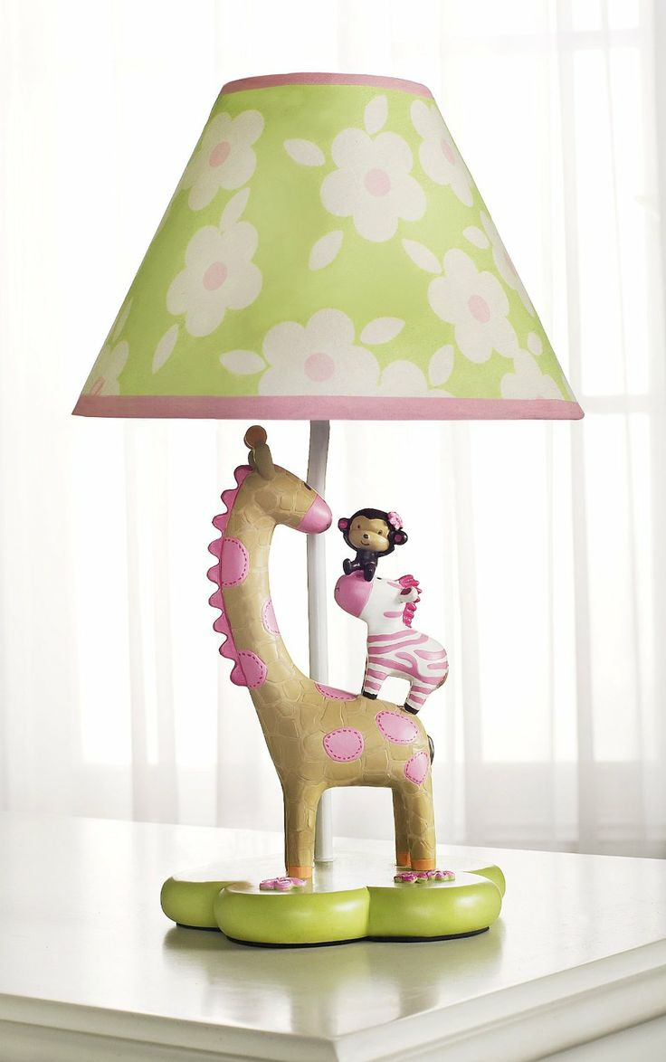 163 best for your lil ones room images on pinterest for Jungle floor lamp for nursery