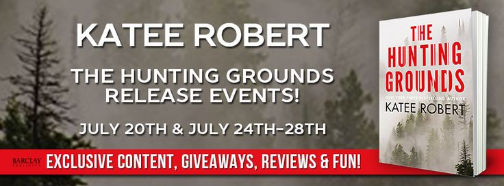 Release Week Celebration for THE HUNTING GROUNDS by NYT Bestselling Author, Katee Robert! THE HUNTING GROUNDS By Katee Robert Series: Hidden Sins #2 Genre: Romantic Suspense Release Date: July 25, …