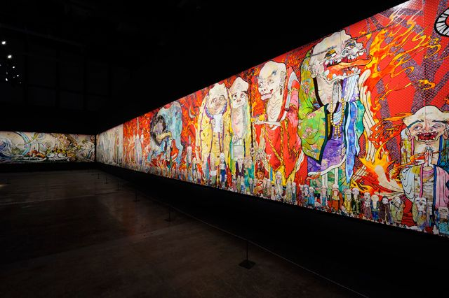 村上隆、14年ぶりの大規模個展が森美術館で開催 (1/2)|アート|Excite ism(エキサイトイズム)