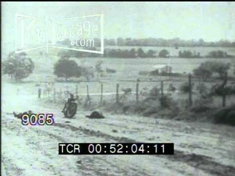 Stock Footage - BONNIE AND CLYDE: RE-ENACTMENT OF POLICE KILLING, AND FINAL POLICE AMBUSH - YouTube