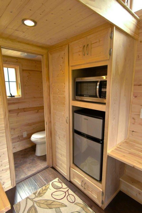 Tiny House Interior Bathroom