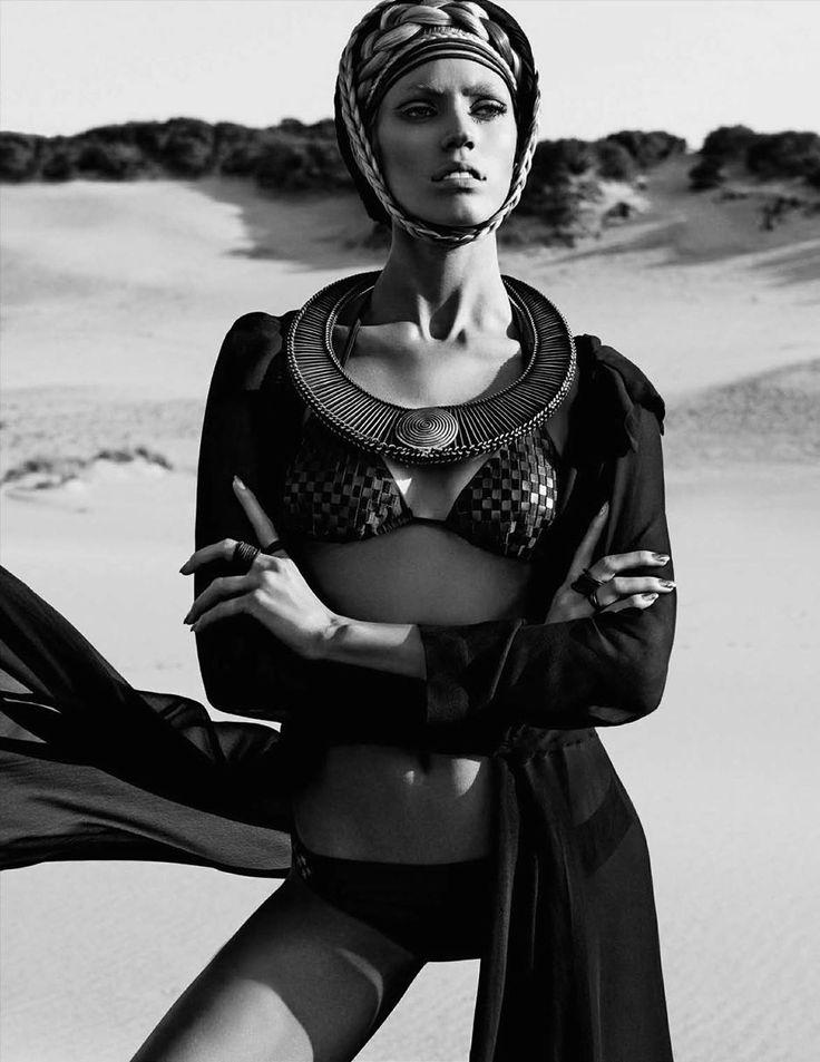 ru_glamour: Devon Windsor for Vogue Germany June 2014
