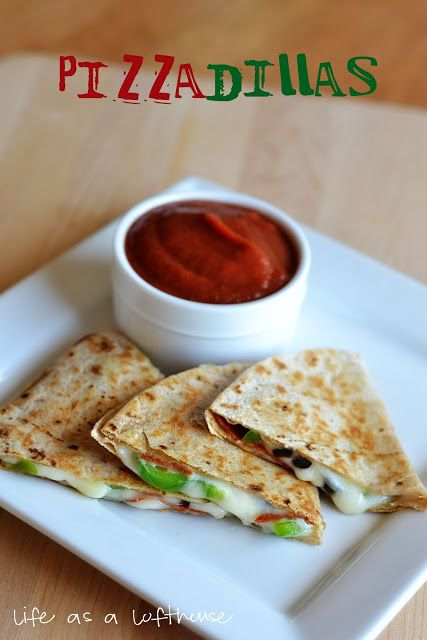 Pizzadillas | Recipes - Appetizers/Snacks/Sandwiches/Finger Foods | P ...