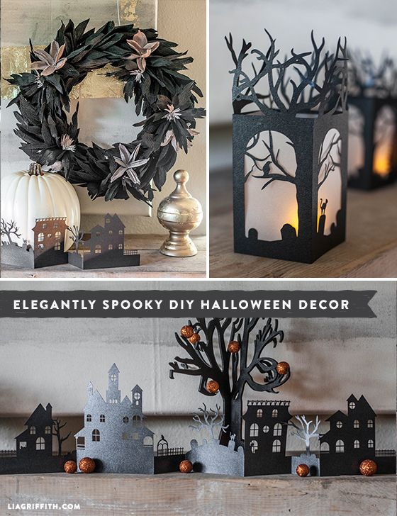 DIY Halloween Decoration Roundup with Free Downloadable Printable Patterns & Templates   |   liagriffith.com