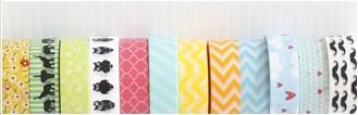 Cutetape.com has so many different styles of washi tape, party supplies, bakers twine, and SO much more. I LOVE IT!