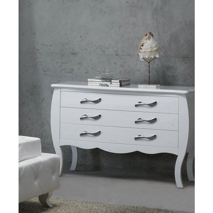 Monte Carlo White Bedroom Dresser